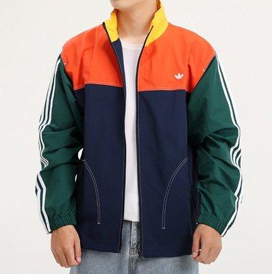 YJP& Adidas運動外套 夾克 立領外套 男款風衣GD2054  XS-XL