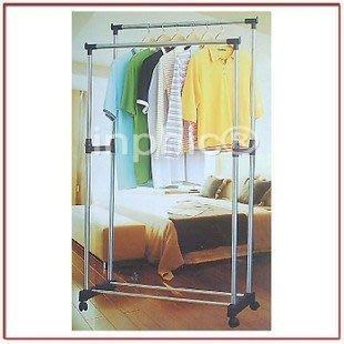 INPHIC-新款 豪華式雙桿伸縮晾衣架曬衣架