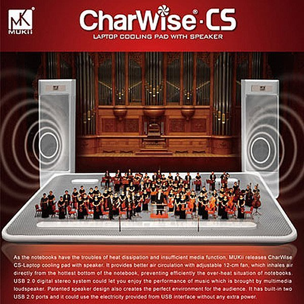 【WSW 散熱座】音樂達人 筆電散熱座 自取680元 高質感金屬面底座 內建立體聲 USB喇叭 風量/音量可調整 台中市