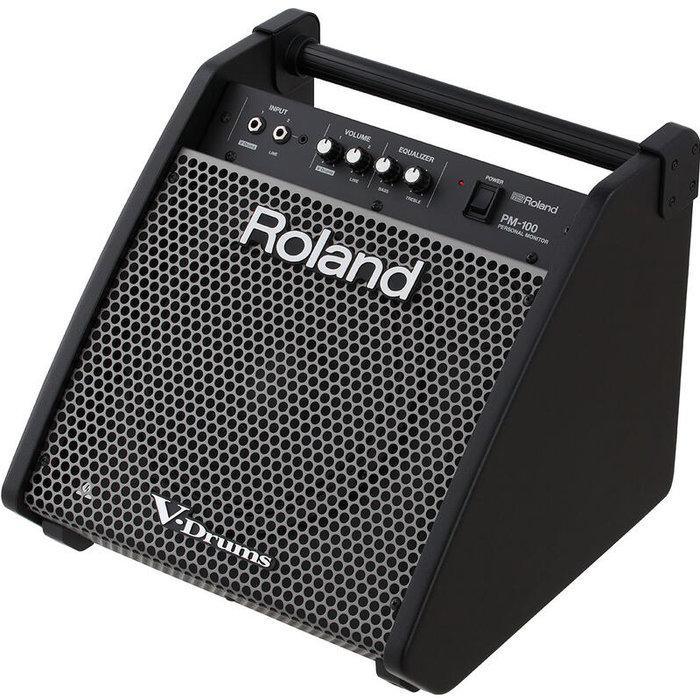 ☆唐尼樂器︵☆公司貨免運 Roland PM-100 電子鼓音箱/電子鼓專用個人監聽(完美相容V-Drums)