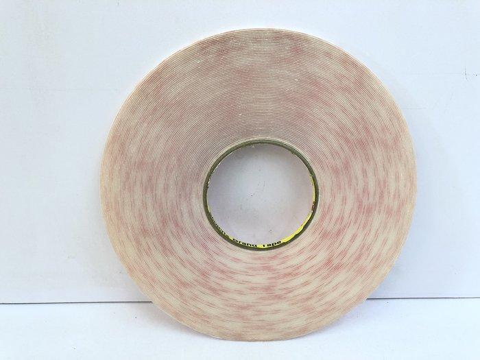 炬霸科技 3M 4910 VHB 雙面膠 透明 膠 果凍 泡棉 5MM 33M 33米 1MM 白捲 厚 強力 膠帶