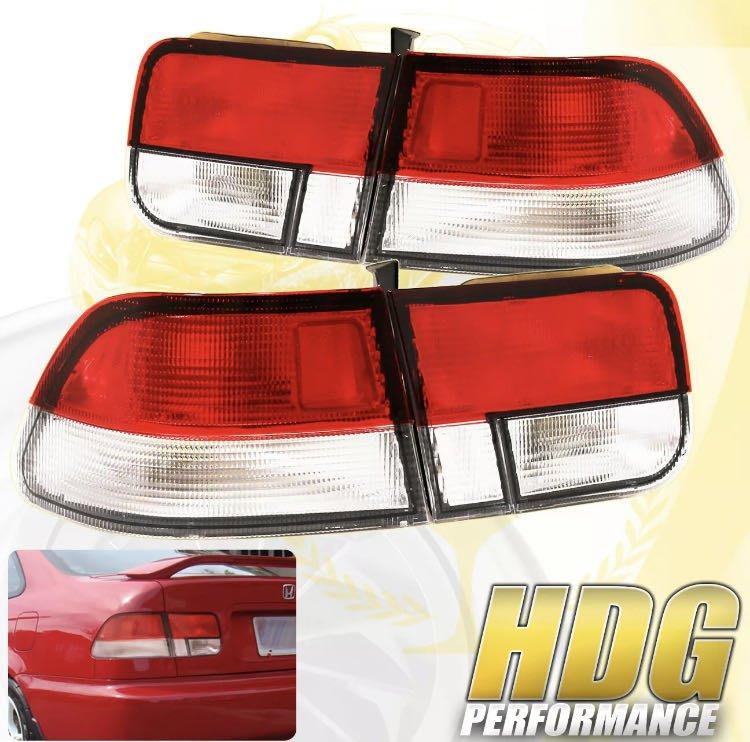 海外代購 K8 coupe 尾燈 全新 美國製 ej6 ej7 ej8
