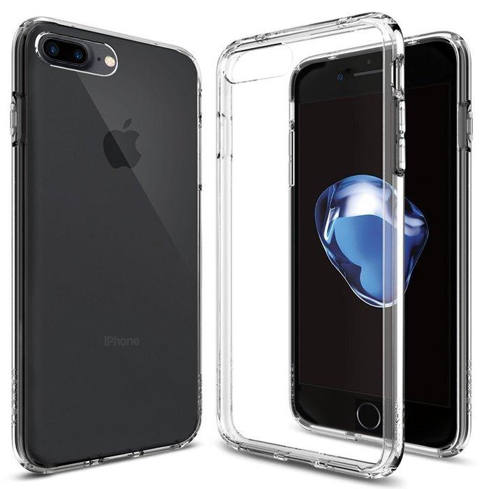 SGP SPIGEN Ultra Hybrid iPhone 7 Plus 防撞超薄型 雙料 防震 手機殼 保護套 透明