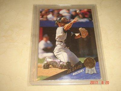 美國職棒 Yankees Manager Joe Girardi  1993 Leaf  #332 球員卡