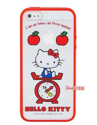 """《東京家族》""""特價出清""""三麗鷗正版 Hello Kitty iPhone 5/5S 透明保護殼手機殼"""
