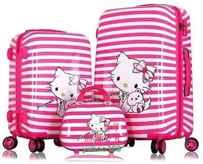 美學178hello kitty拉桿箱韓旅行20寸 寸登機箱女行李箱❖06113