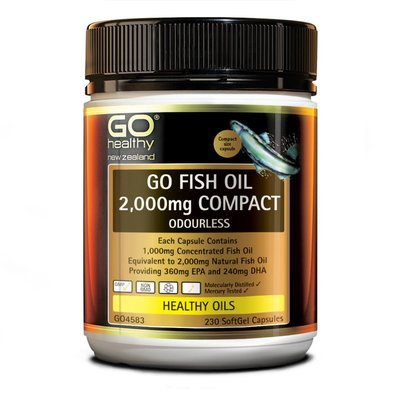 純淨紐西蘭🌿  高之源 深海魚油 🐟 230顆 Go Healthy 2000mg fish oil