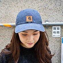 【A-KAY0】CARHARTT 男女 ODESSA CAP BLUE STONE 老帽 藍【100289-470】
