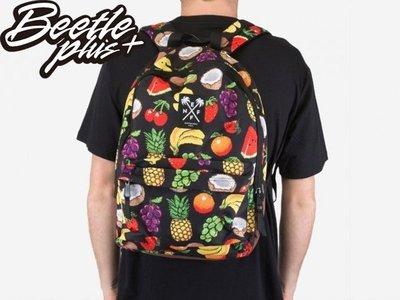 BEETLE NEFF HARD FRUIT SCHOLAR BACKPACK 熱帶水果 香蕉 櫻桃 黑 後背包
