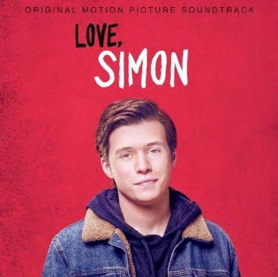 親愛的初戀  電影原聲帶CD/  改編西蒙和他的日誌,收錄 Troye Sivan 新歌 ~SONY