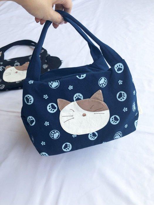 日本卡拉貓~Gon醬簡約手提包 便當袋