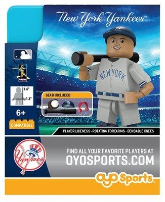 騎士風~ OYO Sports MLB 官方授權 公仔 洋基隊 AARON JUDGE 賈基 增值 生日禮物