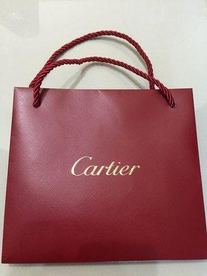 【專櫃正品】卡地亞 Cartier 紙袋19.6*17.6*8cm 台北市