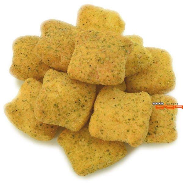 【吉嘉食品】雞塊鬆餅(黑胡椒/海苔)‧600公克[#600]