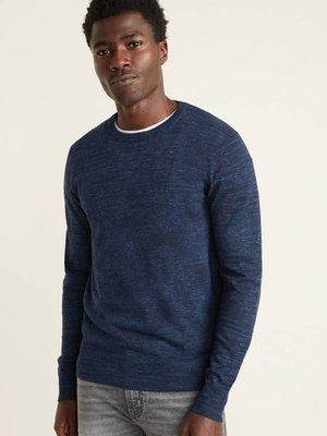 【現貨 S】OLD NAVY 經典素面百搭圓領毛衣 輕量柔軟舒適款針織衫