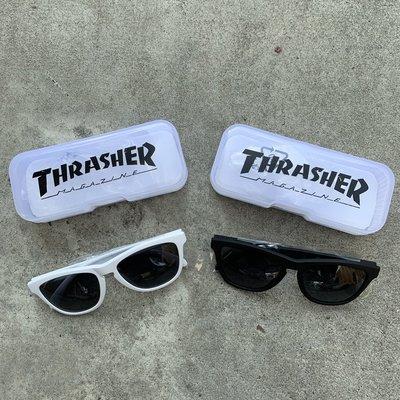 ☆LimeLight☆ THRASHER HOMETOWN SUNGLASSES 熱賣款 墨鏡 黑色 & 白色