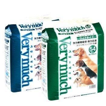 VERY MUCH 貓狗寵物尿布墊 尿片 保潔墊 看護墊 45X60cmX54片,整箱(共6包)1,500元