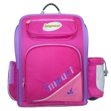 GIFT41  4165本通  重慶門市 IMPACT 怡寶標準型舒適護脊書包(二代)-粉紅 IM0050BPK