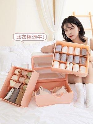 【berry_lin107營業中】衣柜內衣收納盒三合一抽屜式塑料整理箱分格文胸收納柜