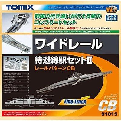 TOMIX 91015 WILD線路組 待避線駅Ⅱ CB 鐵道 N規 場景