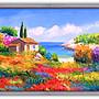 四方名畫:歐洲風情油畫 裝飾畫MIT可訂製尺寸...
