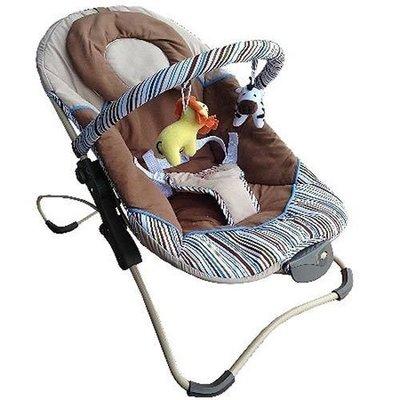 [家事達] Mother's Love 摺疊安撫搖椅-攜帶式搖椅- 咖啡色~ 特價 可摺疊-好方便~~~
