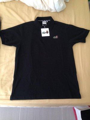 LACOSTE L!VE x A BATHING APE ®  supreme 棉褲 + 襯衫 黑色 01 S