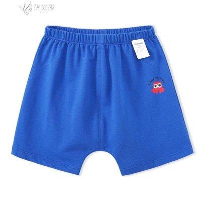 【蘑菇小隊】嬰兒褲子夏裝小寶寶短褲純棉男童幼兒下裝薄-MG37493