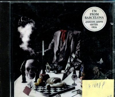 *真音樂* I'M FROM BARCELONA / WHO KILLED HARRY HOUDIN 二手 K16889