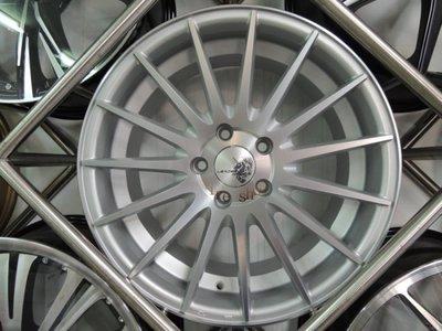和田☆ (VF2) 類VOSSEN VFS2 17吋4孔100/4孔114.3 消光銀鋁圈
