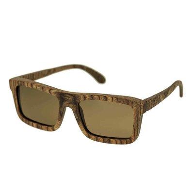 【換日線】男太陽眼鏡 Spectrum Burrow Wood Sunglasses SSGS118BN