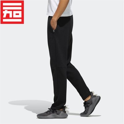 潮流優選Adidas阿迪達斯男子春秋經典百搭收腿休閒訓練跑步運動長褲EH3752