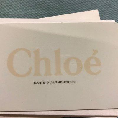 真品 Chloe Marcie Bag(中) Nut 核果色 中型小牛皮肩真品小牛皮雙把 馬鞍包 手提斜背