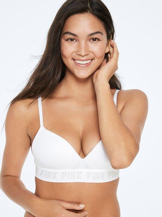 【iBuy瘋美國】全新正品 Victoria's Secret 維多利亞的秘密 無鋼圈薄墊集中款舒適內衣 32C、32D