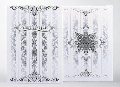[fun magic] 白色詭計撲克牌 Artifice white decks 收藏牌 白色詭計