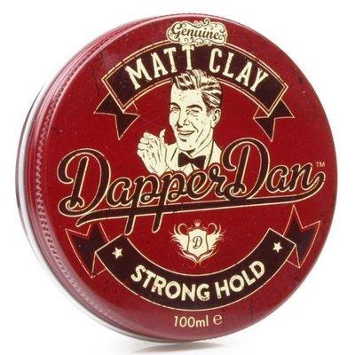 ☆小喬美妝☆Dapper Dan 時髦丹 Matt Clay 紅罐 英式混泥土 100ml 可門市取貨
