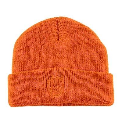 [CABAS滑板店] SPITFIRE BIGHEAD BEANIE 橘色 │滑板 毛帽 火焰