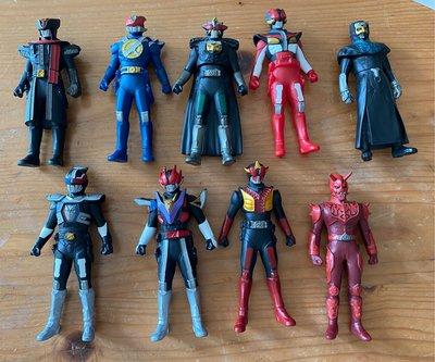 ※幪面超人-幪面超人家族(電王)-共9隻(4.5吋-5吋高)請注意內文