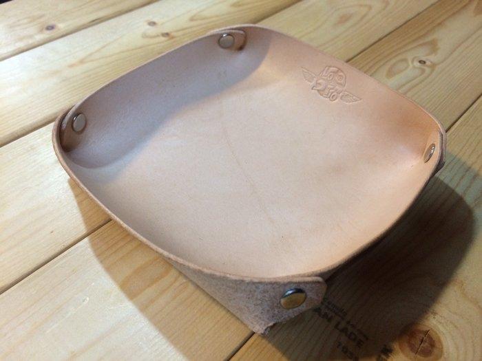 (I LOVE樂多)LOTTO義大利植鞣牛皮手工打造收納盤/置物/裝飾/收納