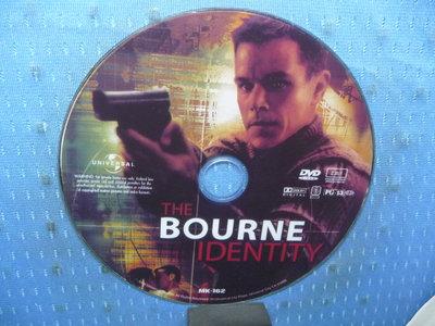 [無殼光碟]KJ  神鬼認證 The Bourne Identity  1片DVD