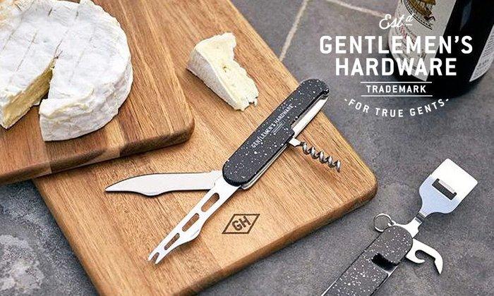 GOODFORIT / 英國Gentlemen's Hardware Cheese & Wine Tool八合一工具組