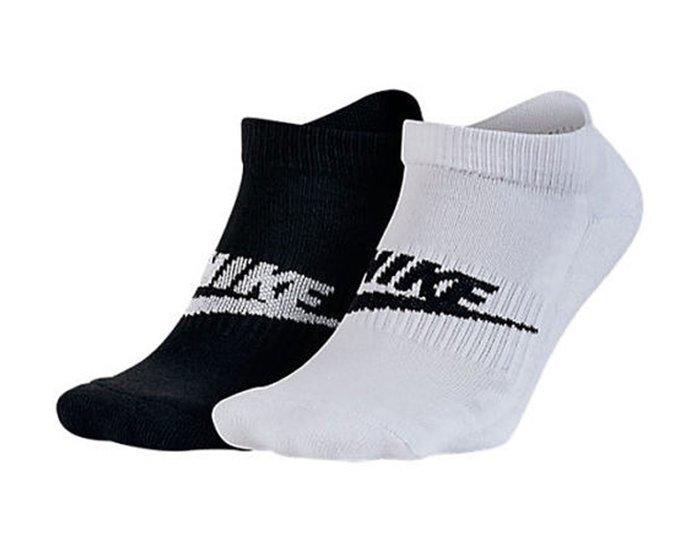 ☆【襪子館】☆【100%全新真品NIKE短襪/運動襪】☆【NKD001E1】☆ (兩雙/組)12/10到貨