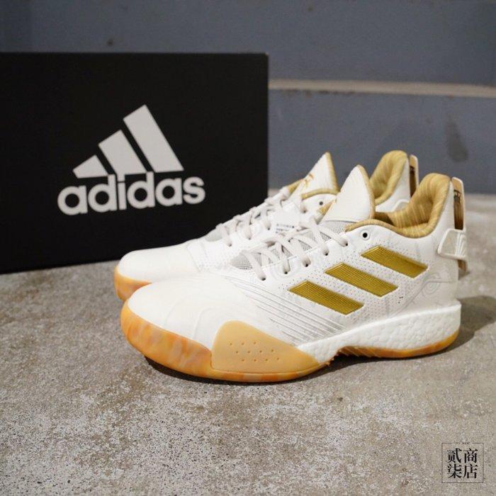 (貳柒商店) adidas T-Mac Millennium 男款 白色 金 籃球鞋 Boost 孫子兵法 G27750