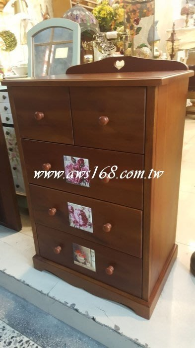 瓷磚實木斗櫃