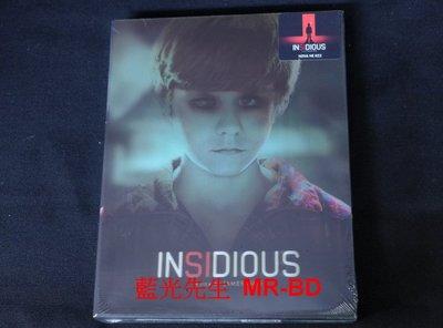 [藍光BD] - 陰兒房 Insidious 閃卡紙盒鐵盒版 - [限量900]