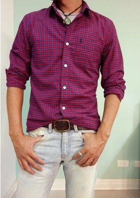 MISHIANA 英國品牌 JACK WILLS 男生款棉質格子長袖襯衫(特價出售)