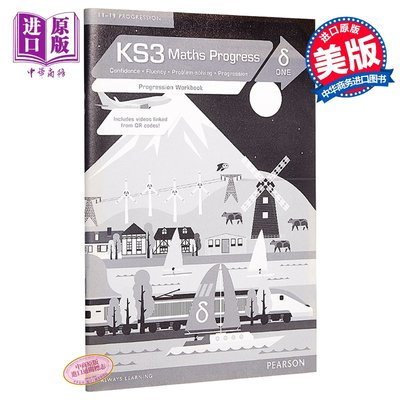 KS3 Maths Progress Progression Workbook Delta 1 英文原版 KS3數學20