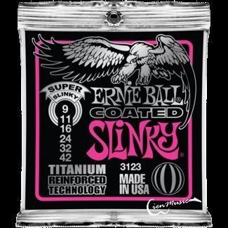 『立恩樂器』Ernie ball Cobalt Strings 3123 (09-42) 老鷹牌 鈦包覆 電吉他弦