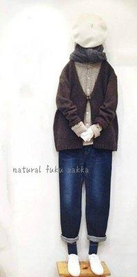 現貨 日本質感品牌 NOMBRE IMPAIR 可愛 羊毛 粗針織 綁帶 毛衣罩衫