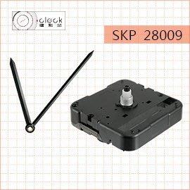 【鐘點站】精工SKP-28009 時鐘機芯(螺紋高4.5mm)滴答聲 壓針/+鐘針(J100072)附電池